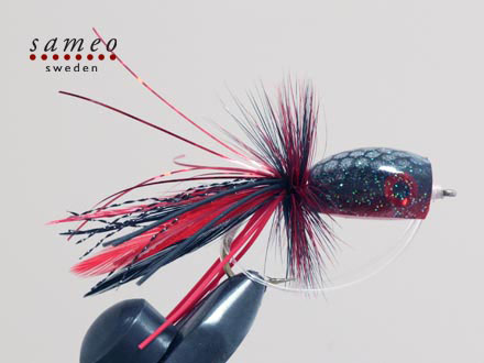 Red devil popper