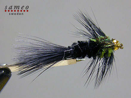 Montana Marabou Goldhead
