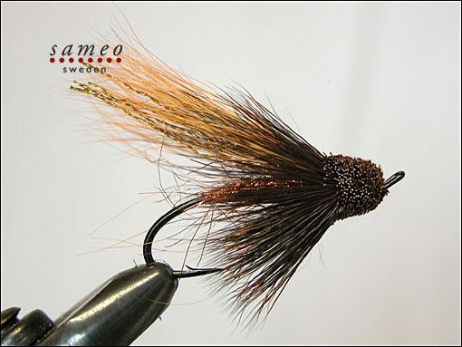 Salmon Bronz Muddler