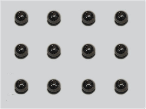 Beadhead 5.5 mm (svart)