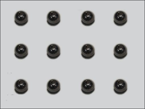 Beadhead 6.4 mm (svart)