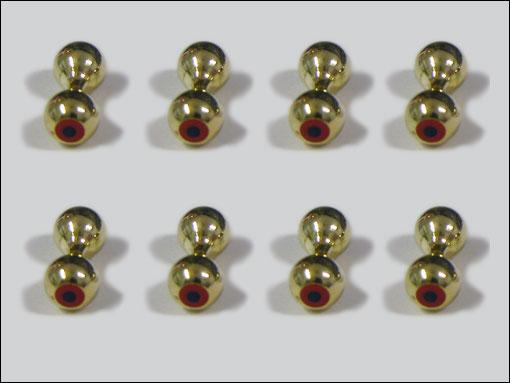 Bug-Eyes 4 mm (guld)