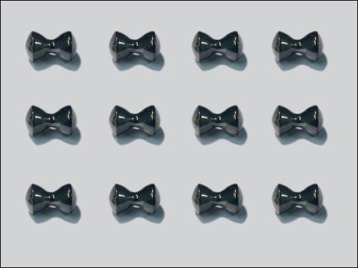 Dazl Eyes 4.8 mm (svart)