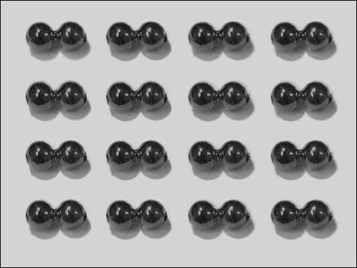 Dog Nobbler Eyes 4 mm (svart)