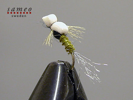 Foam Biot Sparkle Emerger Trico