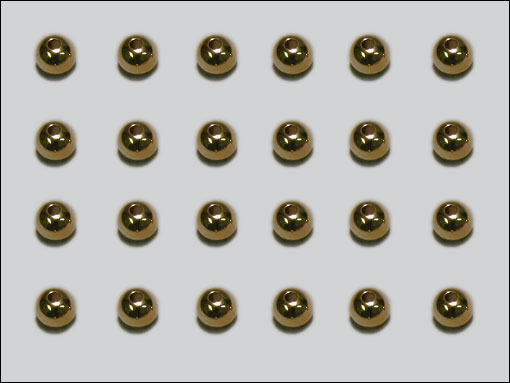 Tungsten Beadhead, Guld