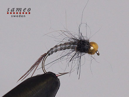 Czech Mayfly dark grey