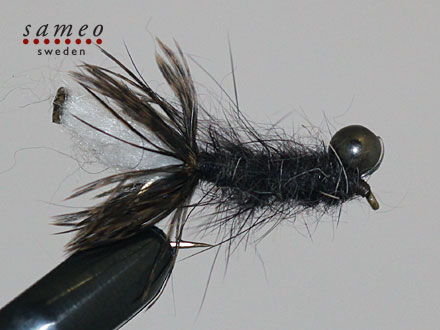 Peeping Caddis dark grey
