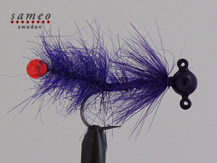 Pearl butt dropper (Purple)