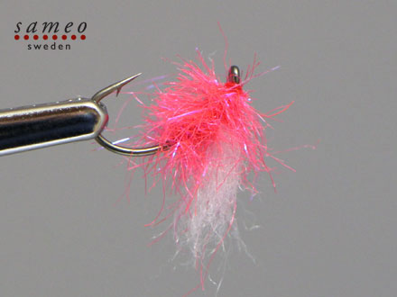 Egg fly fluo orange