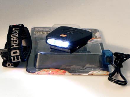 LED Kepslampa med rörelsedetektor