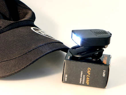 LED Kepslampa