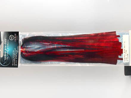 Flashabou Bred röd
