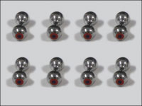 Bug-Eyes 4 mm (silver)