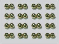 Dog Nobbler Eyes 2.4 mm (guld)