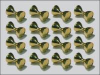 Drilled Dazl Eyes 5.5 mm (guld)