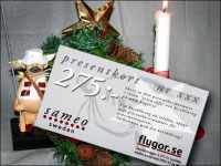 Presentkort 275