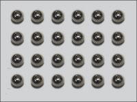 Tungsten Beadhead, Silver