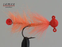 Pearl butt dropper (Fluorecent orange)