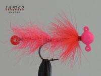 Pearl butt dropper (Flamin pink)